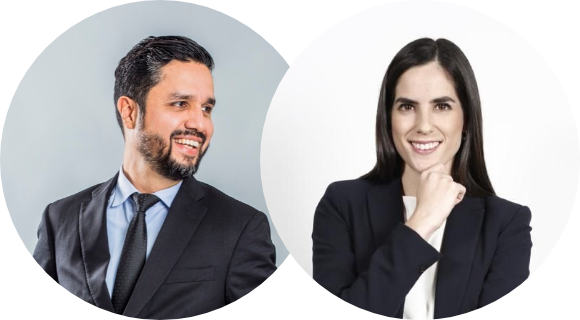 Jonathan Ruiz Torres y Emily Medina Hettle